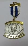 Otan  4eme Marche 1975 Capellen-luxembourg - Tokens & Medals