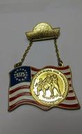 U.s.a Bicentenaire Int. Wanderung 1975 Bitburg/ger - Tokens & Medals