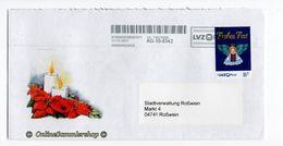BRD - Privatpost - Umschlag - LVZ - Marke: Frohes Fest / Weihnachten - Privatpost