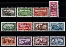 Syria 1926 Refugies MNH Set M 284/295 - Syrien (1919-1945)