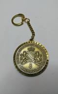 Federation Luxembourgoise De Marche Populaire Porte Cle - Tokens & Medals