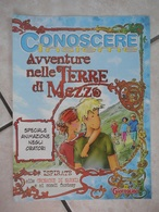 Conoscere Insieme - Opuscoli - Avventure Nelle Terre Di Mezzo - Speciale Animazione Oratori - IL GIORNALINO - Libri, Riviste, Fumetti