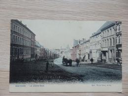 Bastogne - La Grand' Rue - Colorisé - Edit: Victor Coën, Arlon - Circulé: 1908 - Voir 2 Scans - Bastogne