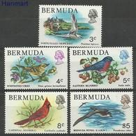 Bermuda 1978 Mi 352-354+356+368 MNH ( LZS2 BRM352-354+356+368 ) - Marine Web-footed Birds
