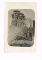 Soldats Allemands Devant Une Ruine.Expédié à KIrchheimbolanden (Rhl-Pfalz) - Krieg, Militär