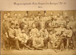 Dragonerregiment Prinz Eugen Von Savoyen Nr. 13  A3 Format Photo;  KuK, K.u.K. Dragoner 1875 - Krieg, Militär