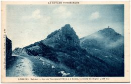 26 LEONCEL - Col De Tourniol, à Droite , La Croix Du Signal - Frankrijk