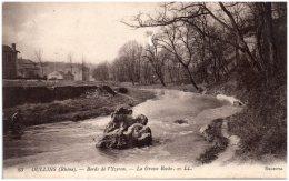 69 OULLINS - Bords De L'Yzeron - La Grosse Roche - Oullins