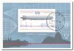 Duitsland 2007, Gestempeld USED, Zeppelin - Gebruikt