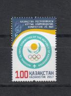 Kz 1008 25th Aniv. Of Olympic Comitee 2017 - Kasachstan