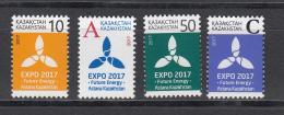 Kz 1009-12 Definitv Issue Expho 2017 2017 - Kasachstan