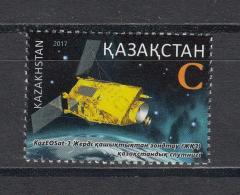 Kz 1018 Space Cosmonautic Day 2017 - Kasachstan