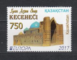 Kz 1024 Europe Stamp Castles 2017 - Kasachstan