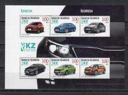 Kz 1029-34 Bl.94  Cars 2017 - Kasachstan