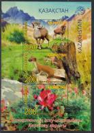 Kz 1040-42 Bl.96  Karatau Nature Reserve 2017 - Kasachstan