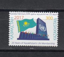 Kz 1052 25th Anniversary Of Kazakhstan's UN Membership 2017 - Kasachstan