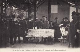 Carré Marigny - A La Bourse Aux Timbres - M. O. Weber, Le Créateur De La Bourse De Jeudi - District 08
