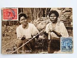 C.P.A. : GUATEMALA : Indias Tejedoras, 2 Sellos En 1926 - Guatemala