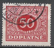 Czechoslovakia 1928. Scott #J63 (U) Numeral Of Value * - Timbres-taxe