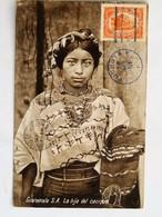 C.P.A. : GUATEMALA : La Hija Del Cacique, Sello En 1926 - Guatemala