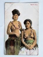 C.P.A. : SAMOA : SAMOAN GIRLS, Seins Nus, Topless - Samoa