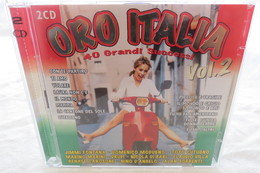 "2 CDs ""Oro Italia"" Vol. 2, 40 Grandi Successi - Music & Instruments"