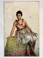 C.P.A. : SAMOA : SAMOAN WOMAN, Seins Nus, Topless - Samoa