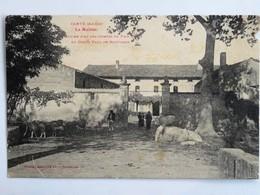 C.P.A. : 09 CANTE : La Maïsou, Ancien Fief Des Comtes De Foix Au Comte Paul De Mauvaisin, Animé En 1953 - Frankreich