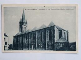 C.P.A. : 56 QUESTEMBERT : Vue D'ensemble De L'Eglise Saint-Pierre - Questembert