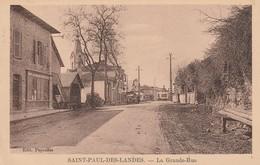 SAINT-PAUL-DES-LANDES - La Grande Rue - France