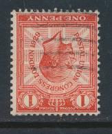 GB, 1929 UPU 1d Wmk INVERTED (N) - 1902-1951 (Koningen)