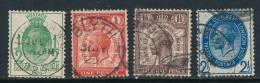 GB, 1929 UPU Set VFU (N) - 1902-1951 (Koningen)