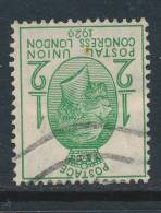 GB, 1929 UPU ½d Wmk INVERTED (N) - 1902-1951 (Koningen)