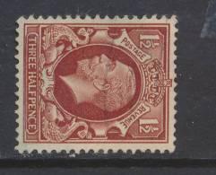 GB, 1934 1½d Wmk Sideways (N) - 1902-1951 (Koningen)