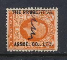 GB, 1934 2d Wmk Sideways (short Top Perfs) (N) - 1902-1951 (Koningen)