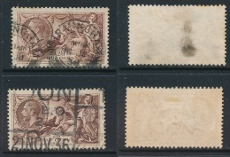 GB, 1934 2s6d Re-engr Red-brown,chocolate-brown SG Spec. N73(2) Cat £80 (N) - 1902-1951 (Koningen)