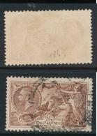 GB, 1934 2s6d Re-engraved Red-brown, SG Spec. N73(2) Fine Used Cat £40 (N) - 1902-1951 (Koningen)