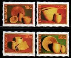 TRANSKEI, 1989,  MNH Stamp(s), Weaving & Basketry,  Nr(s)  234-237 - Transkei