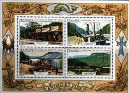 TRANSKEI, 1986,  MNH Stamp(s), Port St. John,   Nr(s) 180-183ms Block 2 - Transkei