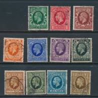 GB, 1934 Set Complete Very Fine Used (N) - 1902-1951 (Koningen)