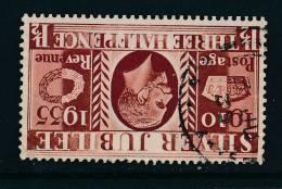 GB, 1935 Silver Jubilee 1½d Wmk INVERTED (N) - 1902-1951 (Koningen)