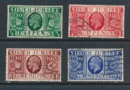 GB, 1935 Silver Jubilee Very Fine Used (N) - 1902-1951 (Koningen)