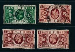 GB, 1935 ½d (type III), 1½d (type I, II And III) See SG Specialised (N) - 1902-1951 (Koningen)