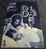 "CLAUDIA CARDINALE Im FEDERICO FELLINI Film ""8 1/2"" Mit Anouk Aimee, Sandra Milo ... - Altes NFP-Filmprogramm - 182161 - Magazines"