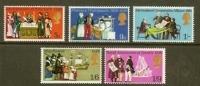 UK 1970 MNH Stamp(s) Mixed Issue 539-543 - 1952-.... (Elizabeth II)
