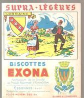 Buvard EXONA Biscottes Supra Légères LA LORRAINE - Zwieback