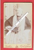PHOTOGRAPHIE CDV DUPANLOUP FELIX EVEQUE D ORLEANS 1802 SAINT FELIX EN SAVOIE 1878 LA COMBE DE LANCEY PHOTOGRAPHE GILLES - Célébrités