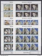 A28. 9x Guine-Bissau - MNH - Animals - Birds - Owls - 2004 - Full Sheet - Vögel