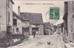 Gemeaux - Rue Gambetta Côte D'Or 21 - France