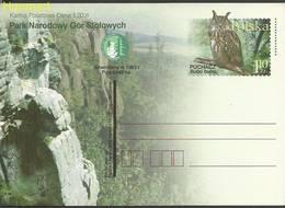 Poland 2002 Fi Cp 1281 Postal Stationery ( LCP ZE4 PLD1281 ) - Owls
